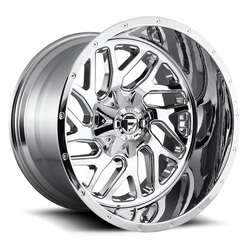 Fuel Wheels Triton D210 - Chrome - 22x14