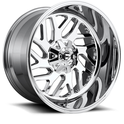 Fuel Wheels Triton D609 - Chrome - 22x12