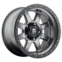 Fuel Trophy D552 - Matte Anthracite with Black Ring