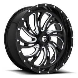 Fuel Kompressor D641 UTV-Black - Gloss Black & Milled