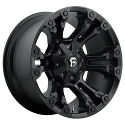 Fuel Wheels Vapor D560 - Matte Black Rim - 17x10