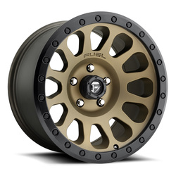 Fuel Wheels Vector D600 - Bronze Rim - 17x8.5