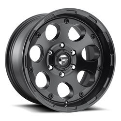 Fuel Enduro D608 - Matte Black - 20x9