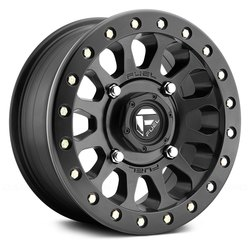 Fuel Wheels Vector Beadlock D920 UTV - Matte Black Rim - 14x7