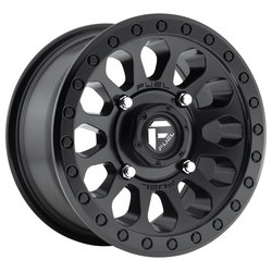 Fuel Wheels Fuel Wheels Vector D579 UTV - Matte Black - 15x7