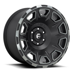Fuel Wheels Vengeance D686 - Matte Black / Machined / Dark Tint