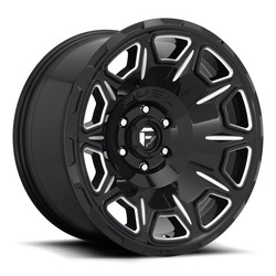 Fuel Wheels Fuel Wheels Vengeance D688 - Gloss Black / Milled