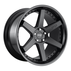 Niche Wheels Altair M192 - Satin Black / Gloss Black Rim - 24x10