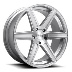 Niche Wheels Carina M235 - Gloss Silver Brushed Rim