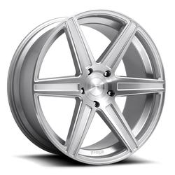 Niche Wheels Carina M235 - Gloss Silver Brushed Rim - 24x10