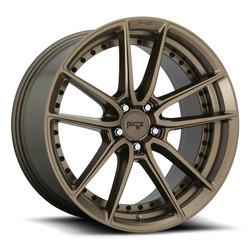 Niche Wheels DFS M222 - Matte Bronze Rim - 17x8