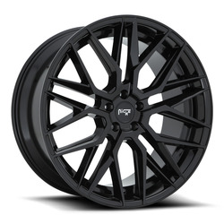 Niche Wheels Gamma M224 - Gloss Black Rim - 22x10.5