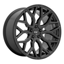 Niche Wheels Mazzanti M261 - Matte Black Rim - 22x10