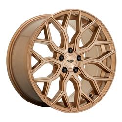 Niche Wheels Mazzanti M263 - Platinum Bronze w/ Brushed Bronze Tint Rim - 22x10