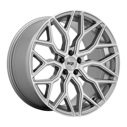 Niche Wheels Mazzanti M265 - Anthracite Brushed Tint Clear Rim