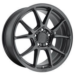 Niche Wheels Messina M174 - Matte Black Rim - 17x8