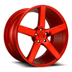 Niche Wheels Milan M187 - Gloss Red Rim