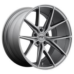 Niche Wheels Niche Wheels Misano M116 - Matte Gunmetal - 17x8