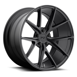 Niche Wheels Misano M117 - Satin Black Rim - 22x10.5