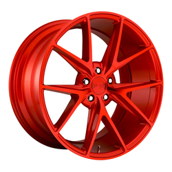 Niche Wheels Misano M186 - Gloss Red Rim