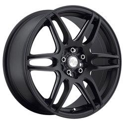 Niche Wheels NR6 M106 - Black & Milled Rim - 17x7.5