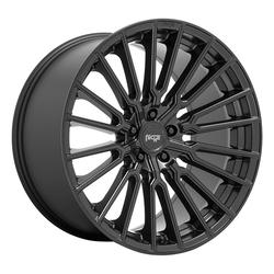 Niche Wheels Premio M250 - Matte Black Rim - 22x10