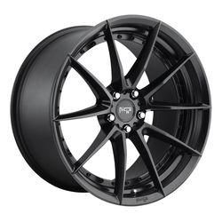 Niche Wheels Sector M196 - Matte Black - 19x8.5