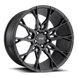 Niche Wheels Staccato M183 - Matte Black Rim - 22x10