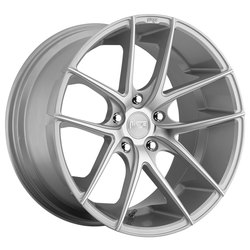 Niche Wheels Targa M131 - Silver & Machined Rim
