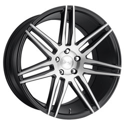 Niche Wheels Trento M178 - Gloss Black & Brushed Rim