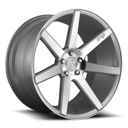 Niche Wheels Verona M179 - Silver & Machined Rim