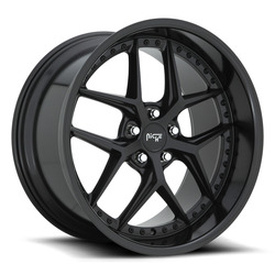 Niche Wheels Vice M226 - Satin Black/Gloss Black Rim - 19x9.5