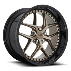 Niche Wheels Vice M227 - Matte Bronze / Black Rim