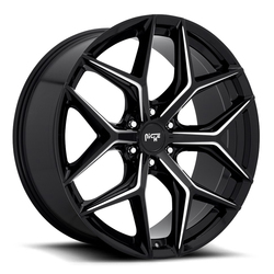 Niche Wheels Vice SUV M232 - Gloss Black with Milled Spoke Edges Rim