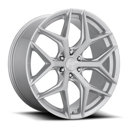 Niche Wheels Vice SUV M233 - Brushed Silver Rim - 24x10