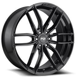 Niche Wheels Vosso M209 SUV - Gloss Black Rim - 22x9.5