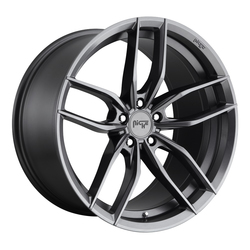 Niche Wheels Vosso M204 - Gloss Anthracite Rim - 22x10.5