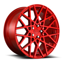 Rotiform Wheels Rotiform Wheels BLQ R109 - Gloss Red - 18x8.5