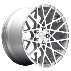 Rotiform Wheels BLQ R110 - Silver & Machined Rim