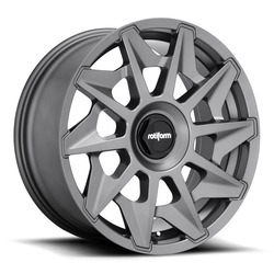 Rotiform Wheels CVT R128 - Matte Anthracite Rim