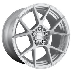 Rotiform Wheels KPS R138 - Gloss Silver Brushed Rim