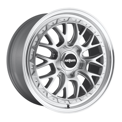 Rotiform Wheels LSR R155 - Silver & Machined - 19x10