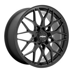 Rotiform Wheels SGN R190 - Matte Black Rim - 19x10