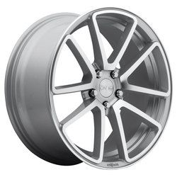 Rotiform Wheels SPF R120 - Silver & Machined Rim