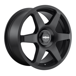 Rotiform Wheels Six R113 - Matte Black Rim