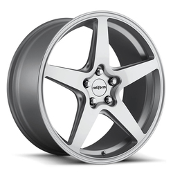Rotiform Wheels WGR R146 - Silver Machined Rim