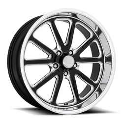 US Mag Wheels Rambler U117 - Gloss Black / Diamond Cut Lip Rim