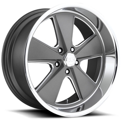 US Mag Wheels Roadster U120 - Matte Gunmetal Rim