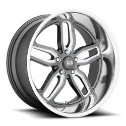 US Mag Wheels CTEN U129 - Anthracite / Milled Rim