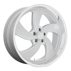 US Mag Wheels Desperado 5 - U134 - Silver Brushed with Diamond Cut Lip Rim